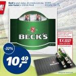 Beck´s versch. Sorten @ real 10,49€/Kasten inkl. 1 Kühlschrankmatte