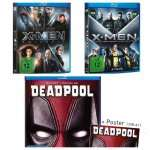 Deadpool BluRay + alle 5 X-Men BluRays für nur 32,98