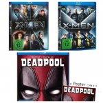 Deadpool BluRay + alle 5 X-Men BluRays für nur 32,98