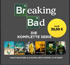 Breaking Bad - die komplette Serie (Staffel 1-6) für 39,99€ @ Wuaki.tv