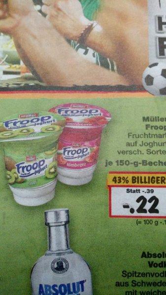 [Kaufland bundesweit] Froop versch. Sorten für 0,22€