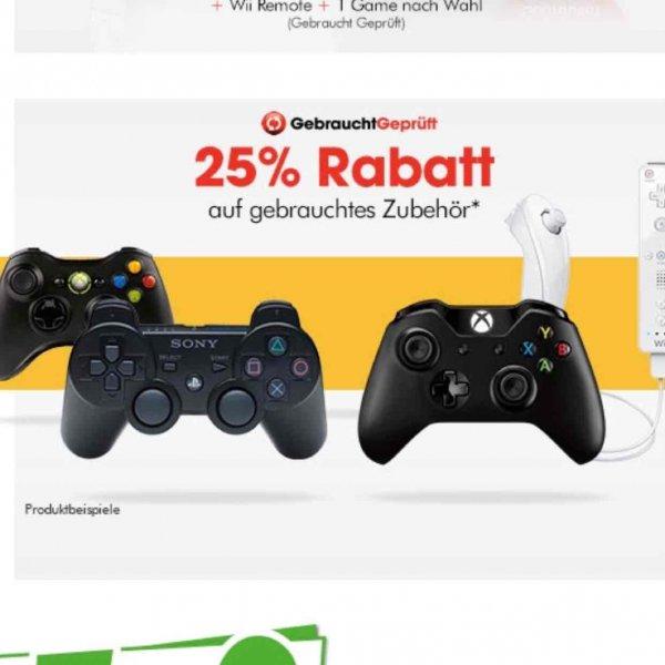 Bei Gamestop 25% auf Zubehör (gebraucht) Hamburg Lokal