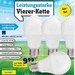 [Conrad] 4x LED Lampe E27 10Watt=60Watt, 10000h Leuchtdauer, VSK-frei