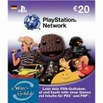20 Euro PlayStation Network Card für PS3/4