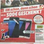 Samsung Galaxy S7 Edge für 1€ mit Allnet Flat und 2GB Internet für 29,99€/Monat