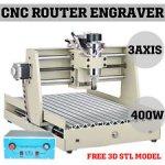 CNC 3040T Fräsmaschine mit 400 Watt Spindel (ER11) für £386,29