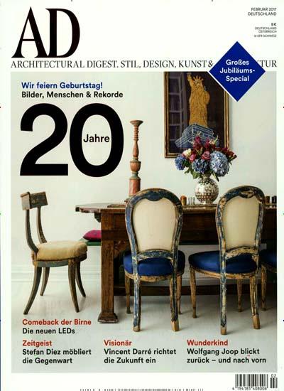 AD-Architectural Digest - 10 Ausgaben für 68€ mit 65,00€ Amazon-Gutschein