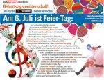 [lokal München] 30€ Saturn Gutschein on top geschenkt wenn man einen Video-Gratulationsspruch am 06.07. im Saturn-Markt einreicht und Waren im Wert von mindestens 300€ kauft + weitere Freebies