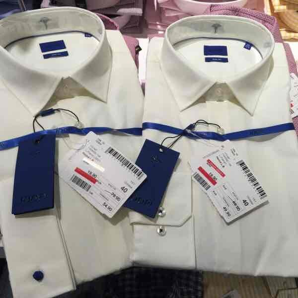 ( Lokal Bielefeld Windsor Outlet ) Joop Business Hemd L Pierre 1 und UMA 1 Slim Fit abgelaufen