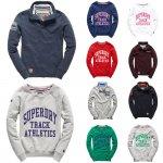 (Ebay) Superdry Sweatshirts für Männer und Frauen Versch. Modelle und Farben für je 34,95 EUR
