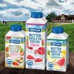 Milram Buttermilch Drink 500g Flasche verschiedene Sorten, pro Flasche 0,39 €