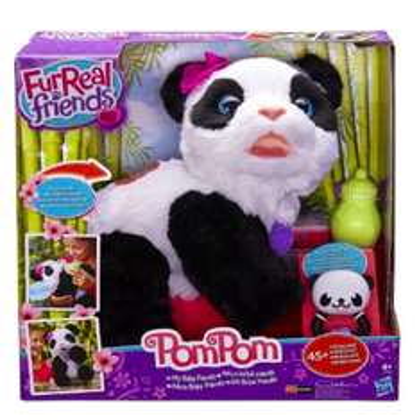 [Amazon] Hasbro FurReal Friends Pom Pom - Mein Baby Panda für 28,25€ statt ca. 40€