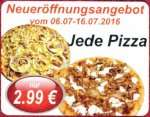 [Lokal Nidderau] Vikings47 - Jede Pizza 2,99 Euro; 06.-16.07.2016