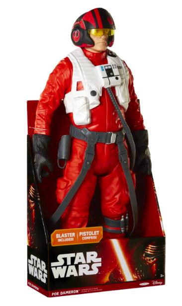 [Amazon Prime] Jakks Pacific Star Wars Poe Dameron Figur 45cm für 9,99€ statt ca. 25€