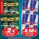 Jacobs Krönung - 2,00€ RedBull 0,50€ im RadioMarkt Gelsenkirchen