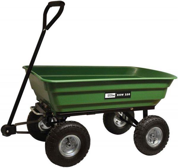 Güde GGW 250 Gartenwagen mit Kippfunktion und 250 kg Tragkraft für 52,95 € @ plus.de
