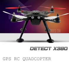 [Gearbest] €193.51 XK Detect X380 GPS Headless Mode 2.4G RC Quadcopter