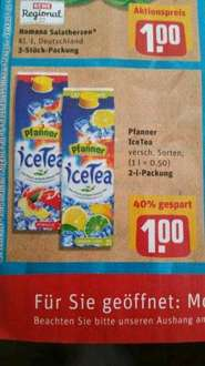 [Rewe] Pfanner Ice Tea 2l Packung 1.00 Euro
