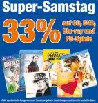 [lokal Coburg/Neustadt/Meiningen/Suhl] 33% Rabatt auf CD, DVD, Blu-Rays und PC-Spiele @ expert
