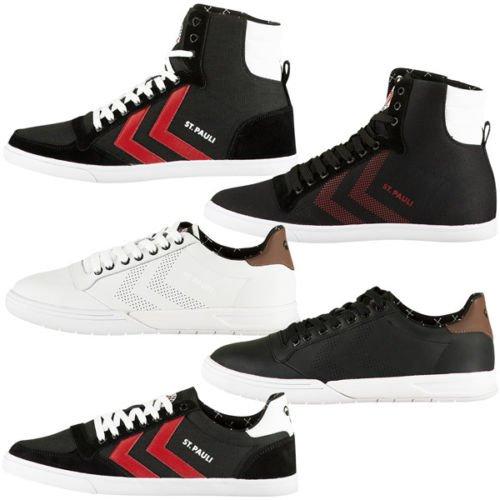 Wieder Da: Hummel Sneaker FC St Pauli diverse Modelle High Top Low Freizeit Schuhe -Grösse 36 bis 46 für 29,95€ statt ca. 40€