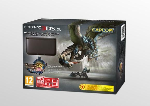 (Coolshop) Nintendo 3DS XL Monster Hunter 3: Ultimate Limited Edition für 134,95€