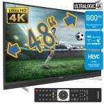 "Grundig 48"" 8573X 121cm UHD 4K TV 4x HDMI 2.0-60Fps, 800HZ, USB Recording, Smart TV für 549,99€ @premiumshopping24 (via ebay)"