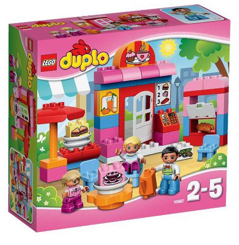 Lego Duplo 10587 - Cafe, Minifigur für 7,73€ mit [Amazon Prime] statt ca. 18€