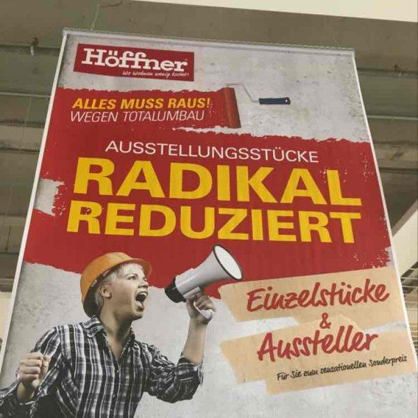 Höffner Dresden 30, 50, 70% auf fast alles wegen Totalumbau