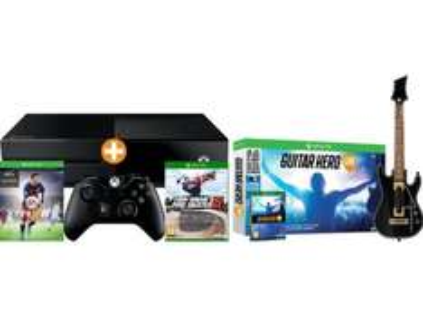 [Saturn Österreich] MICROSOFT Xbox One 500GB inkl. FIFA 16 (download Code) + Guitar Hero Live inc.Gitarre + Tony Hawk Pro Skater Pro 5 für 227,-€ inc. Versand nach Deutschland