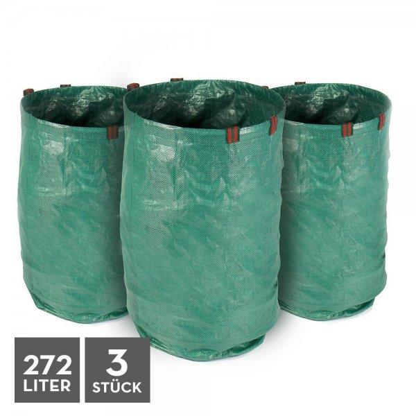 Garten-Abfallsack 272L - 3er Set  [Amazon prime] für 12,29€