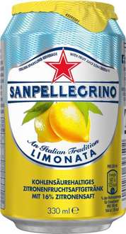 [AMAZON Prime] San Pellegrino Limonata, 24er Pack, Einweg (24 x 330 ml) - 17,33 + 6€ Pfand