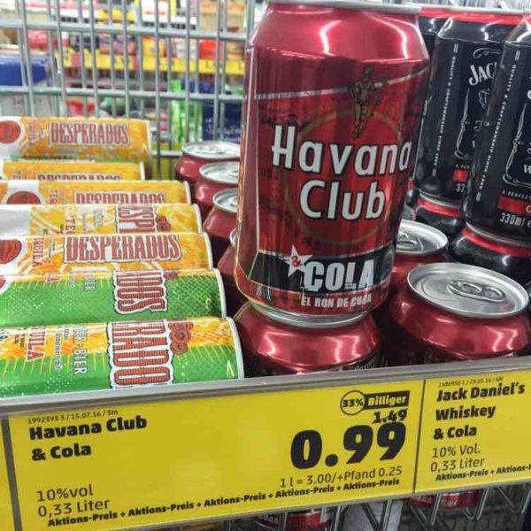 [Lokal Sarstedt] Havana Club & Cola Dose bei Penny