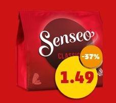 Penny: Senseo-Pads 1,49 €