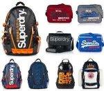 Superdry Taschen Versch. Modelle und Farben für 19.95 € [eBay]