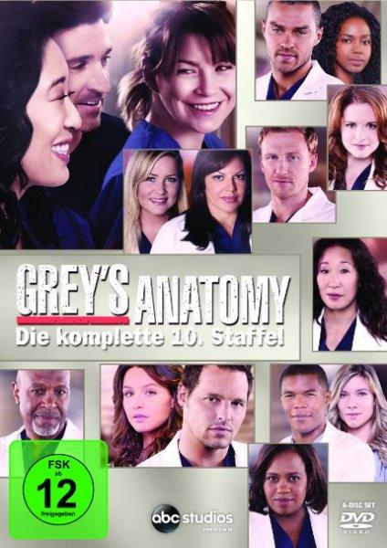 [Amazon] Grey's Anatomy: Die jungen Ärzte Staffeln 1 - 10 im Angebot.