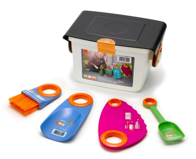 MyFirst Fiskars Box für Kinder (Gartenhelfer) für 5,99€, versandkostenfrei bei [Amazon Marketplace] statt ca. 9€