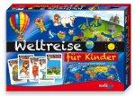 Amazon Prime: Noris Spiele 606013599 - Kinder Weltreise, Kinderspiel