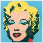 [Amazon] Andy Warhol - Marilyn 1967 Bild im Format 25 x 25 cm