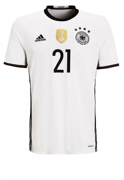 [Zalando] Adidas Herren Deutschland Trikot Performance 2016 Gündogan für 32.95 €