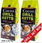 6kg Grillkohle aus Kokosnuss (Cocos Grill Briketts) für 7,99€, versandkostenfrei bei [ebay] statt ca. 12€