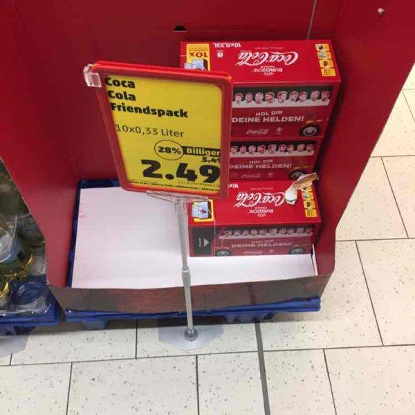 [Penny] Coca Cola 10x0,33l Dose 2,49€ zzgl. Pfand