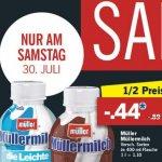 Müllermilch für 44 Cent am 30.07