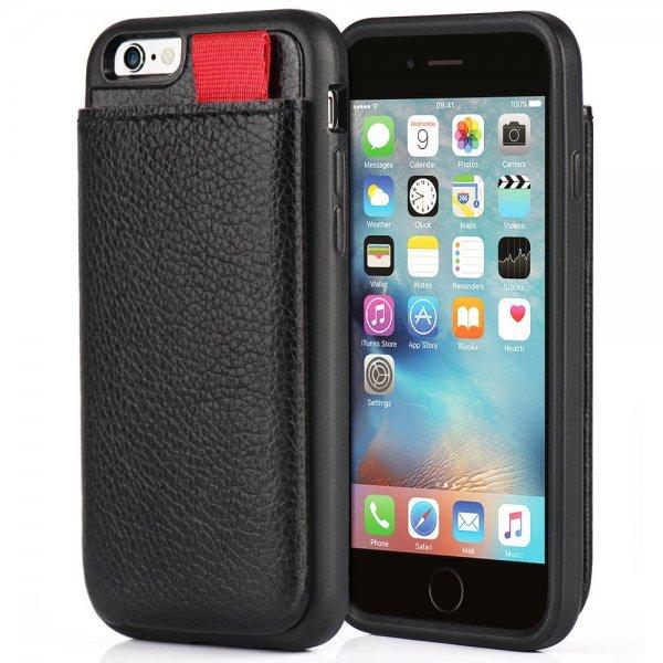 ZVE iPhone 6S iphone 6 Leder Hülle für amazon prime Mitglieder