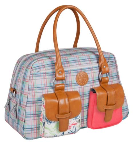 Wieder im Tagesangebot: Lässig Wickeltasche Metro Bag Candy Striped für 44,90€ bei [babymarkt] statt ca. 70€