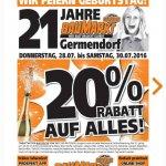 Globus Baumarkt Oranienburg/Germendorf