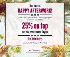 Tom Tailor Happy Afterwork 25 % on Top
