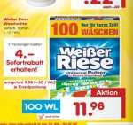 Netto MD Samstagskracher Weißer Riese 2 mal 100 WL = 9,9 (10) cent/wl