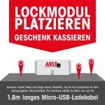 [lokal] ARLT - gratis MicroUSB-Ladekabel in Stuttgart, Karlsruhe, Freiburg und Fellbach