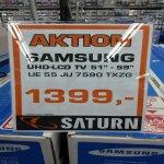 Samsung 55 JU 7590 Saturn-Witten