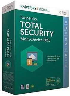 Kaspersky Total Security 2016 + Download
